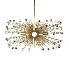 beaded urchin chandelier