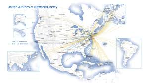 Las Vegas Terminal Map by United Airlines Unveils A New Look In Celebration Of 25 Years At