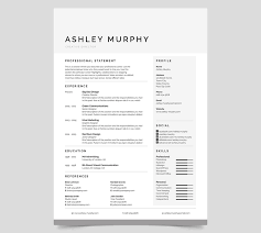 resume templates word doc 20 professional ms word resume templates with simple designs