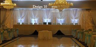 wedding backdrop design wedding draperies
