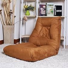 Folding Cushion Bed Amazon Com Merax Adjustable 5 Position Folding Floor Chair Lazy