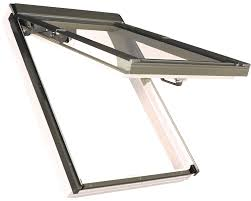 fakro fpu v p2 02 white pu laminated top hung roof window 55x98cm