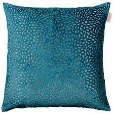 westminster velvet oversized cushion teal cushions b u0026m