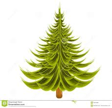 christmas tree clipart undecorated pencil and in color christmas