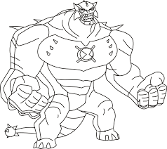 ben 10 coloring pages in ten eson me