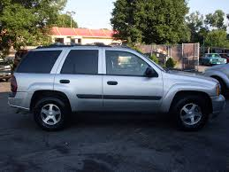 chevrolet trailblazer white ride auto 2005 chevrolet trailblazer silver