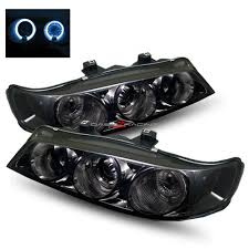 97 honda accord lights 94 97 honda accord halo projector headlights smoke