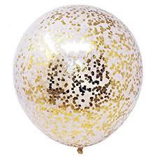 balloon a grams 18 inch confetti filled diy kit party balloons set 6