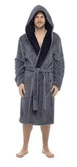 robe de chambre amazon hommes à capuche blottir peignoir robe de chambre polaire avec salon