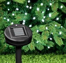 Solar Powered Outdoor Lights by Solar Powered Led Light Strand Outdoor Outdoor Lighting