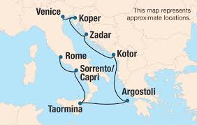 Map Of Capri Italy by Uk Alumni Association Isles And Empires Of The Adriatic