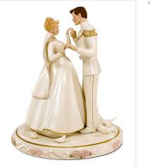 cinderella cake toppers cinderella with prince cake topper png