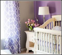 Purple And White Curtains White And Purple Bedroom Curtains Curtains Home Design Ideas