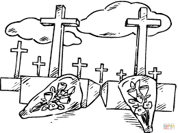 tombs coloring pages for halloween holidays and observances