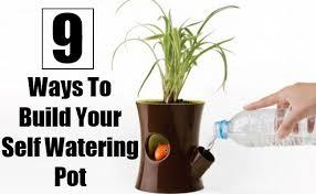diy self watering herb garden 9 ways to build your self watering pot diy home things