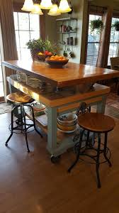 Multi Level Kitchen Island by Fletcher Columbus