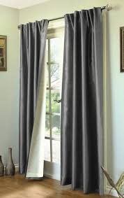 Lined Grey Curtains Ming Lined Back Tab Or Rod Pocket Thermasilk Curtains