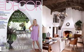 reese witherspoon u0027s ojai home in elle decor september 2012