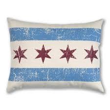Chicago Flags Chicago Flag Throw Pillow Chicago Tribune Store