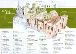 Provence France Map by Palais Des Papes Travel And Tourism In Provence