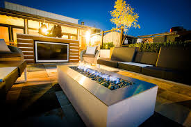 Outdoor Fireplace Patio Designs Modern Outdoor Fireplace Modern Patio Design With Rectangular