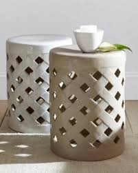 Ceramic Side Table Outdoor Ceramic Stool Foter