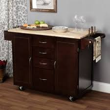 overstock kitchen islands simple living columbus grey kitchen cart with stainless steel top