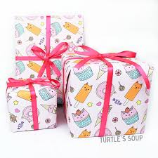 christmas gift wrap rolls christmas gift wrap wrapping paper cat gift wrap cat