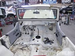 jeep wrangler custom dashboard 1997 jeep wrangler tj building an everyman tj part 1 4 wheel