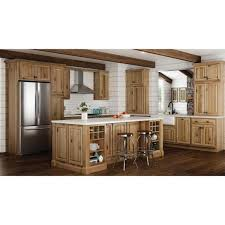 hickory grey stained kitchen cabinets hton assembled 30x34 5x24 in base kitchen cabinet with bearing drawer glides in hickory
