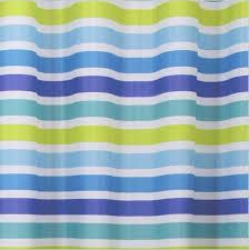 Curtain In Bathroom Blue Striped Lines Waterproof Nice Shower Curtain In Bathroom Buy
