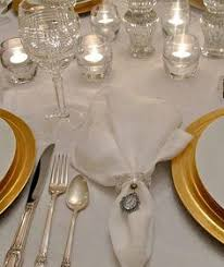 how to set a table with napkin rings ܓ every day s a holiday garden party fresh flower napkin