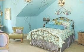 beautiful fairy bed design with metal frames work and decorative