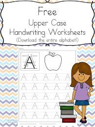 printable handwriting worksheets for kids free download