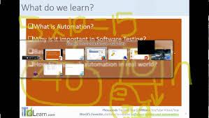 qtp topic 01 automation testing basics qtp tutorial qtp download
