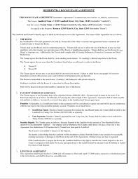 rental agreement forms lease format of sample profit and loss