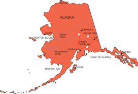 alaska major cities map simple alaska map search us maps alaska