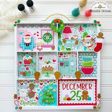 doodlebug design inc blog christmas gifts shadowbox display by