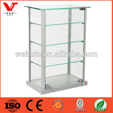 glass counter display cabinet aluminum glass countertop display cabinet for shop display buy