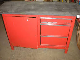 craftsman 4 drawer workbench chest of drawers