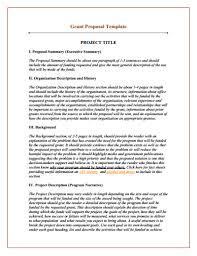 grant report template grant template create edit fill and print