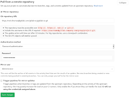 How To Set Up A Reference Page For A Resume Repository Mirroring Gitlab Documentation