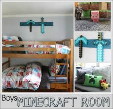 cool minecraft collage with minecraft bedroom 5641