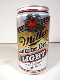 miller genuine draft light miller genuine draft light cold filtered draft beer t o wi