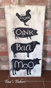 vintage farmhouse kitchen decor farmhouse animals cow zoom