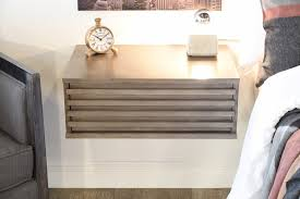 Simple White Desk by Nightstand Appealing Tall Nightstands Wall Mounted Bedside Table
