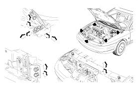 repair instructions hood adjustment 2000 saturn sl2 sc2 sw2
