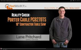porter cable table saw review porter cable 10 stationary table saw pcb270ts how to real user
