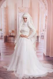 wedding dress muslimah simple vestido de noiva de renda vintage lace sleeve a line muslim