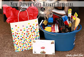 new gift baskets new driver gift basket tutorial simply sweet home
